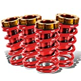 adjustable coil over - DNA Motoring COIL-HC88-T11-RD Coil Over Sleeve Kits