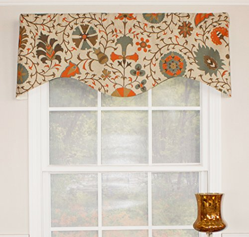 RLF HOME Calypso Curtain VALANCE, 50