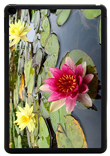 Yellow Waterlilly Light (Rikki Knight Pink and Yellow Waterlillies Gorgeous colors Design iPad Air 2 Smart Case for Apple iPad Air 2 Full Coverage Ultra-thin smart cover (iPad Air ONLY - not for NEW iPad))