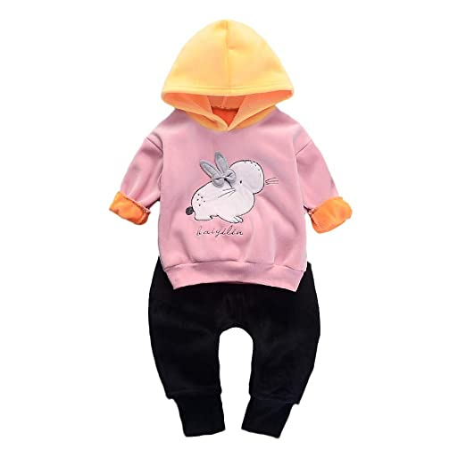 a023fc28ae6e Amazon.com  Keliay Toddler Kids Baby Girls Boys Cartoon Rabbit ...