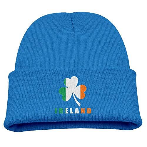 Spinner Clover (Captain America Baby Beanie , Irish Ireland Flag Clover Kid S Hats Winter Funny Soft Knit Beanie Cap Unisex, Irish Cap Baby Boy)