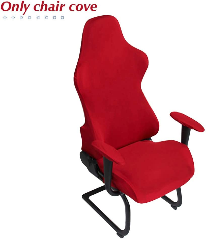 HONUTIGE Gaming Chair Covers, Office Computer Chair Cover, Game Chair Slipcover, Stretch Spandex Armchairs Protector for Racing Chairs, Game Chair - Only Chair Cover