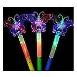 Set of 3 Light Sticks, for Party Supplies, Festivals, Butterflies [Random Color]