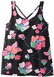 Roxy Girls 7-16 Perfect Tan, True Black Floral, Large image