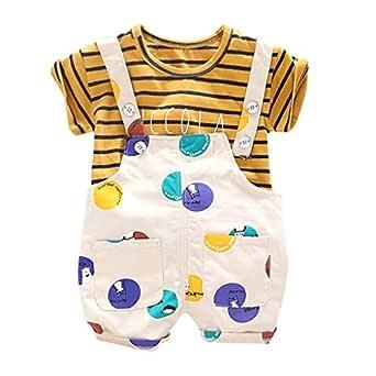 Chanjywe 2pcs Ropa Bebe Niño Conjuntos Camisas Estampada Animal de ...
