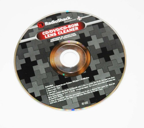 RadioShack CD Lens Cleaner by RadioShack