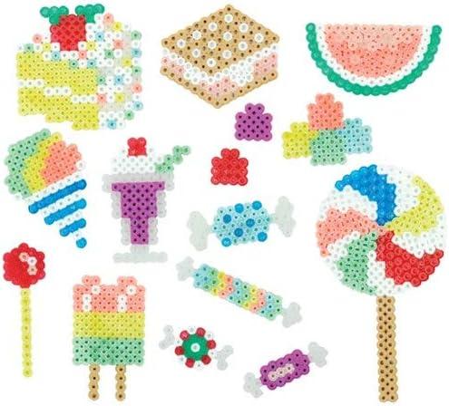 2 Pack Sweet Shoppe Activity Bucket Tweezers Perler Beads Bundle