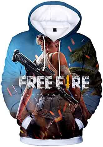Free Fire 3D Unisex Cool Style Hoodies Fashion Logo Clothes Women Men  Hoodies and Sweatshirts 9d40ffb32