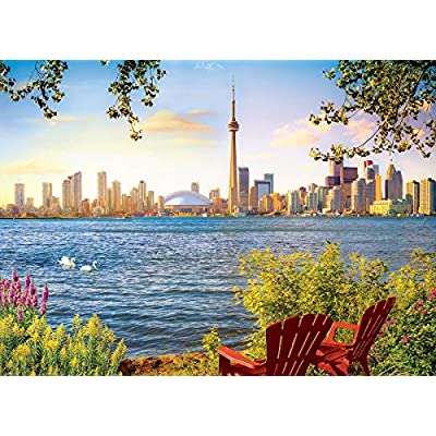 EuroGraphics 5434 View from Toronto Island 1000Piece Puzzle: Toys & Games