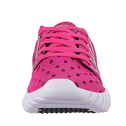 rosso Sport donna per Running Aleader Sneakers Running Tessuto Leggero 8aOwgqv
