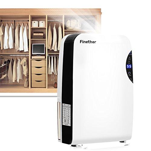 [해외]Finers 2.5L 에너지 절약 공기 제습기 Anion UV 타이머 공기 거실 욕실 주방 차고에 대 한 정화/Finether 2.5L Energy Saving Air Dehumidifier Anion UV Timer Air Purify for Living Room Bathroom Kitchen Garage
