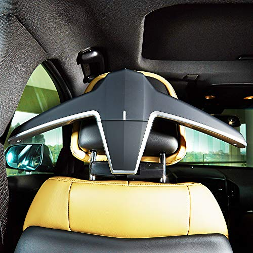 Auto Back Seat Headrest Clothes Jackets Suits Hooks ENGYNC Car Coat Hanger High-End Multi-Purpose Storage Car Accessories
