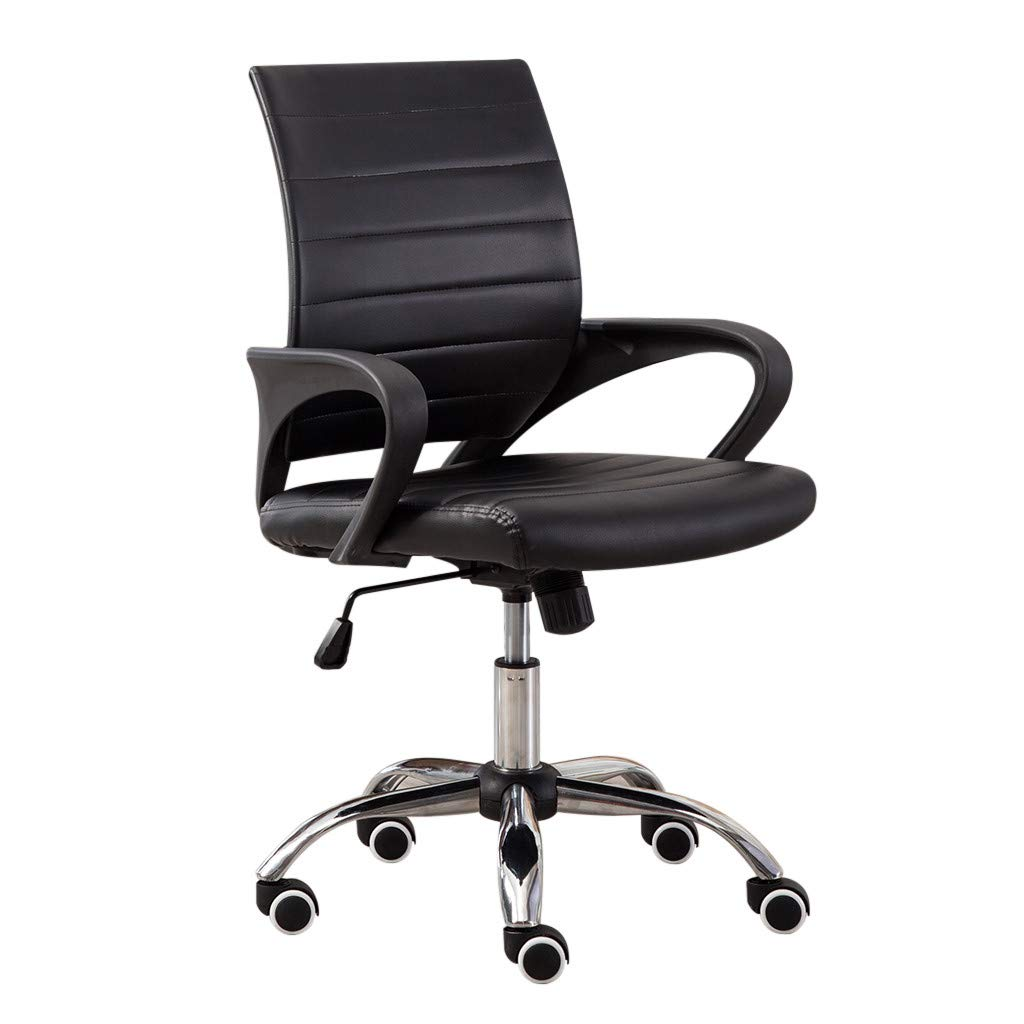YOMXL Office Mesh Chair Lumbar Support Computer Desk Task Chair with Armrests For Home Office