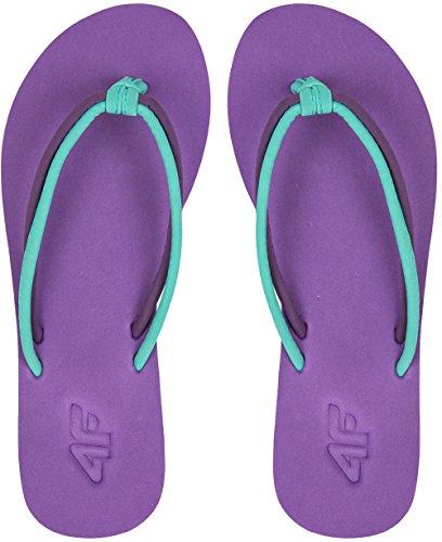 De Sandales 4 Chaussures Femme nbsp;ss17 Plage nbsp;f Douche Chaussons Tongs Badelatschen Violett Kld001 nbsp; YYn1qB