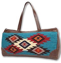 Woman's Tote Bag . Zapotec & Mayan Designs, Hand Crafted wool (Anasazi B)