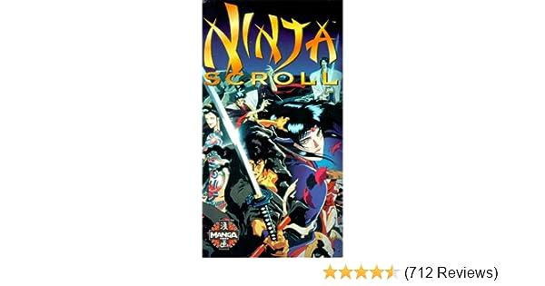 Amazon.com: Ninja Scroll [VHS]: Kôichi Yamadera, Emi ...