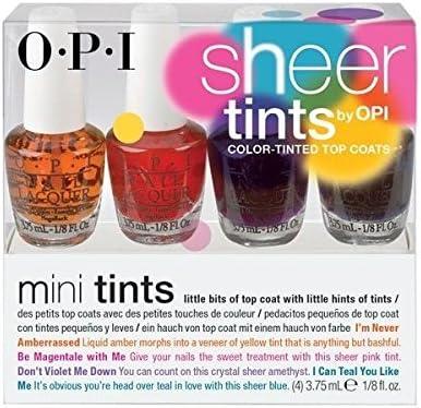 Mini Pack OPI MINI PACK Top Coat: Mini Tints: Amazon.es: Belleza