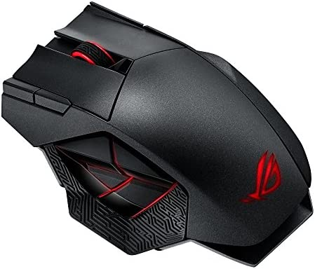 souris asus gaming droitier (strix claw dark edition)