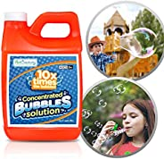 ArtCreativity Concentrated Bubble Solution Refill for Bubbles Toys, Up to 2.5 Gallon, Non-Toxic Large 32oz Con