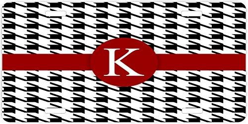 Graduation License Plates (Rikki Knight Letter