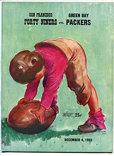 San Francisco 49ers VS Green Bay Packers-NFL Program 12/4/1955-Kezar Stadium-VG (Green Bay Packers Vs San Francisco 49ers)