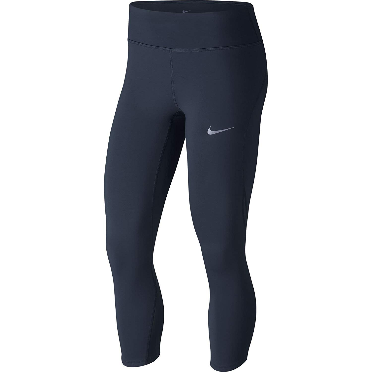 Nike Women's Power Epic Lux Running Crops Obsidian MED