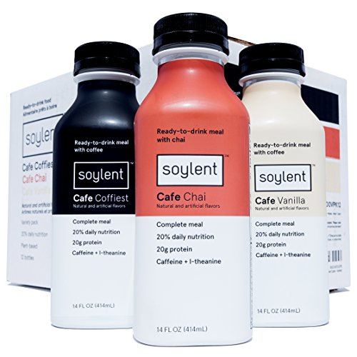Soylent Replacement Drink Variety Bottles product image