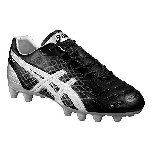 Jet CS FG Mens Rugby Boots - Black noir/blanc/argent
