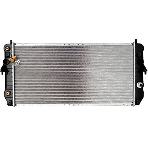 ECCPP New Aluminum Radiator 2352 fits for 2000 Cadillac DeVille Base V8 4.6L 1-1/4 In Thickness