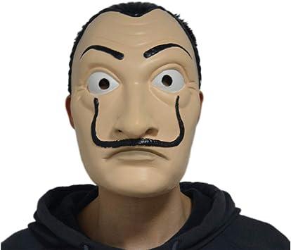 Paper House Dali Mask La Casa De Papel Dali Cosplay Máscara ...