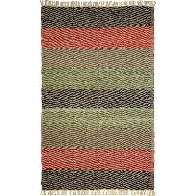 Matador Striped Leather Chindi Rug, 30-Inch by 50-Inch, - Shipping To Wayfair India