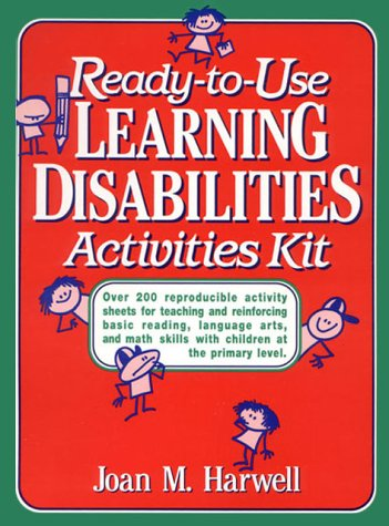 Ready to Use Learning Disabilities Activities Kit