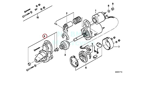 Amazon Com Repair Kit Starter Motor Automotive