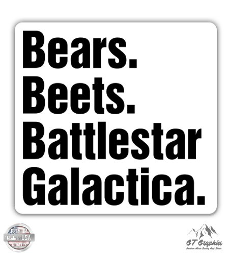 bears beets battlestar galactica office