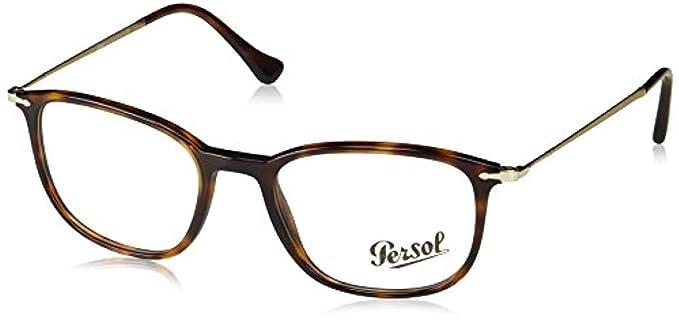 3ee143e6d2529 Persol Men s PO3146V Eyeglasses Brown Beige Tortoise 53mm