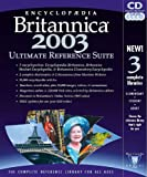 Software : Encyclopedia Britannica 2003 Ultimate Reference Suite