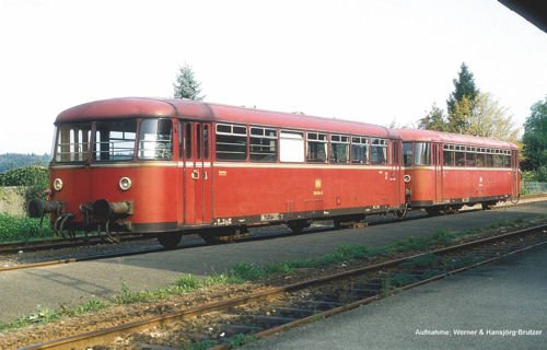 Piko 59611 Schienenbus-Beiwagen, Mehrfarbig