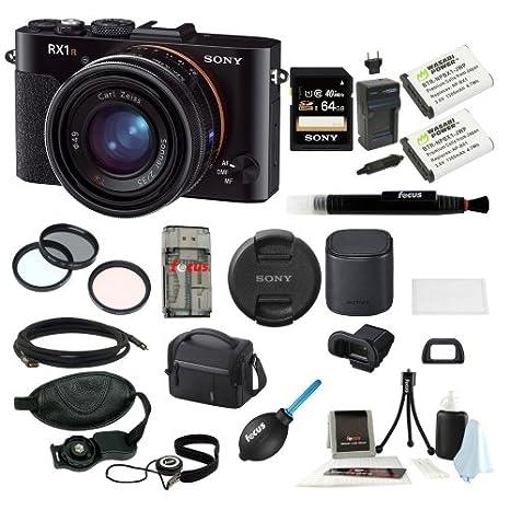 Sony dscrx1r/B Cyber-shot cámara Digital paquete de 24 Mp ...