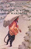 The Lion, the Witch and the Wardrobe, C. S. Lewis, 0060234822