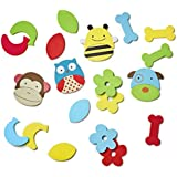 Skip Hop Zoo Bath Mix and Match Faces,  Multi
