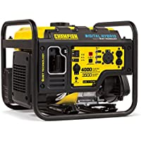 Champion 100302 3500 Watt Digital Hybrid RV Ready Portable Generator with Quiet Technology