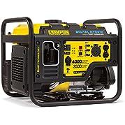 Champion Power Equipment 100302 3500W Digital Hybrid RV Ready Portable Generator with Quiet Technology