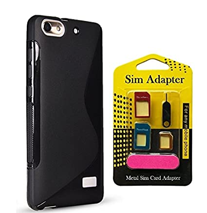 watch 3a2bf ee141 Micromax Bolt D321 Back Case Cover + Metal Sim Card: Amazon.in ...