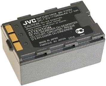 Amazon Com Jvc Bn V312u Lithium Ion Battery For Grdvm76 96 Camcorder Camcorder Batteries Camera Photo