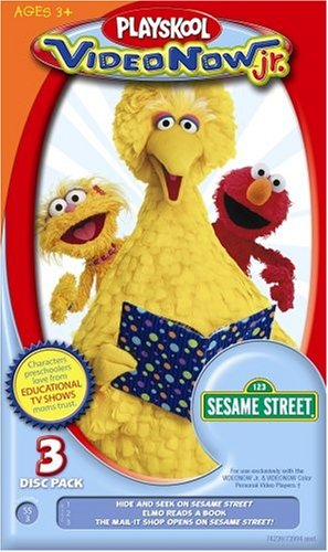 Hasbro Videonow Jr. Personal Video Disc 3-Pack: Sesame Street #3 by Hasbro (Image #1)