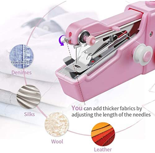 Máquina de coser mini máquina de coser, máquina de coser portátil ...