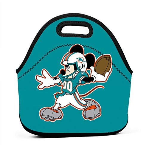 s Cartoon Neoprene Lunch Bag, Bento Bag, Food Container, School Work Office ()