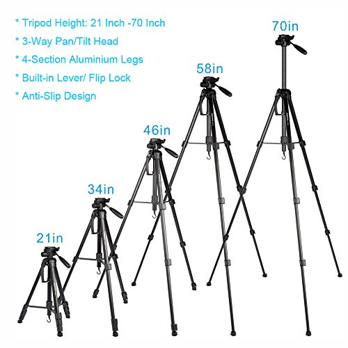 Buy heavy duty camera tripod