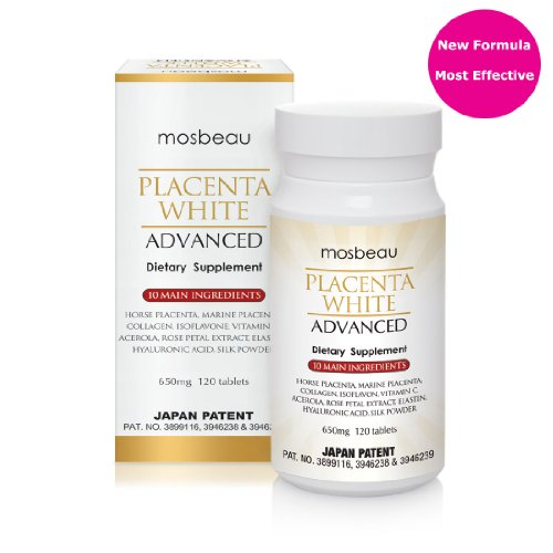 Mosbeau Placenta Blanc Advanced Skin Whitening Comprimés