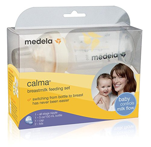 Medela Calma Breastmilk Feeding Set, 5 Ounce